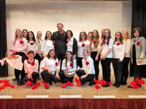 Die Berufsschülerinnen der BS3 in Wels